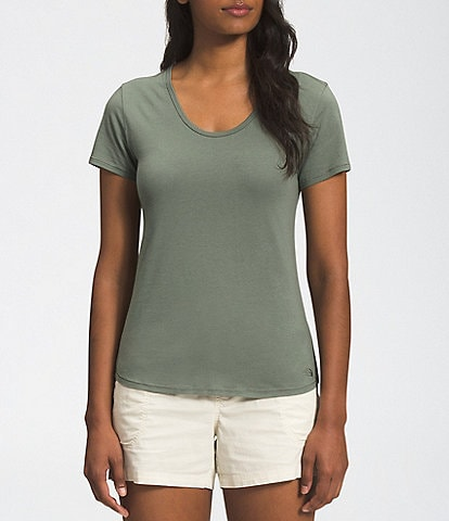 The North Face Best Scoop Neck Slim Fit Tee Ever