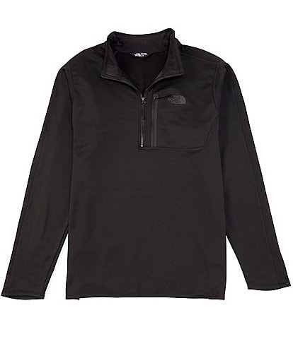 The North Face Big & Tall Long-Sleeve Canyonlands Zip Pullover