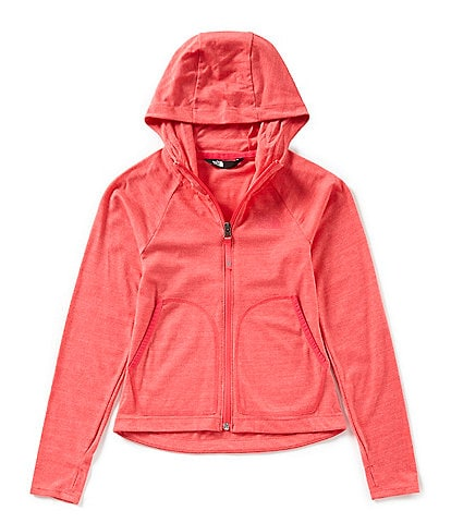 The North Face Big Girls 7-20 Triblend Full-Zip Hoodie