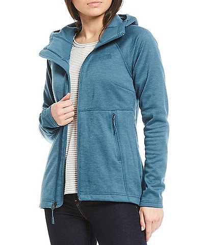 The North Face Canyonlands Thumb Hole Sleeve Front Zip Up Hoodie