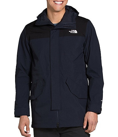 The North Face City Breeze Long-Sleeve Color Block DryVent™ Rain Parka