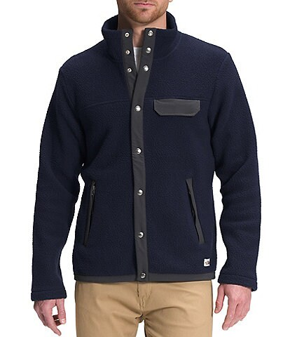 The North Face Cragmont Long-Sleeve Snap-Front Jacket