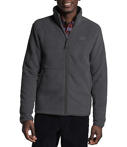 The North Face Dunraven Faux-Sherpa Long-Sleeve Full-Zip Jacket