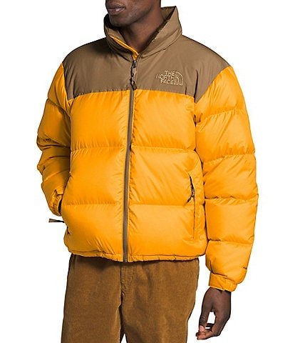The North Face Eco Nuptse Long-Sleeve Zip-Front Color Block Jacket