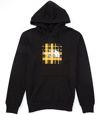The North Face Fleece Plaid Boxed Pullover Hoodie