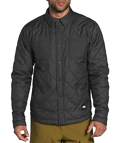 The North Face Fort Point Insulated Solid/Plaid Reversible Insulated Flannel Snow Jacket