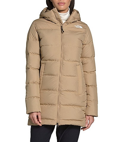 The North Face Gotham Hooded Long Sleeve Down Parka