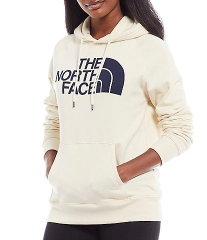 The North Face Half Dome Logo Recycled Fleece Cotton Blend Hoodie Pullover