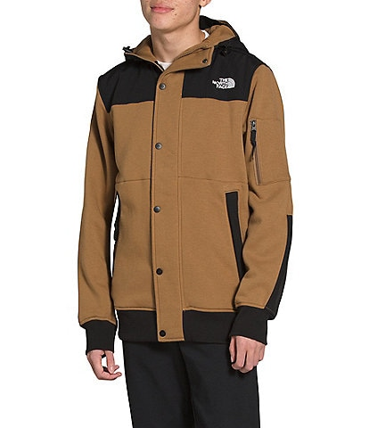 The North Face Highrail Long-Sleeve Zip-Front Fleece Jacket