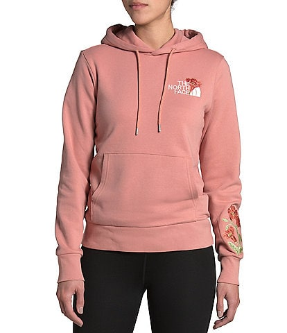 The North Face Himalayan Bottle Source Floral Graphic Detail Hoodie
