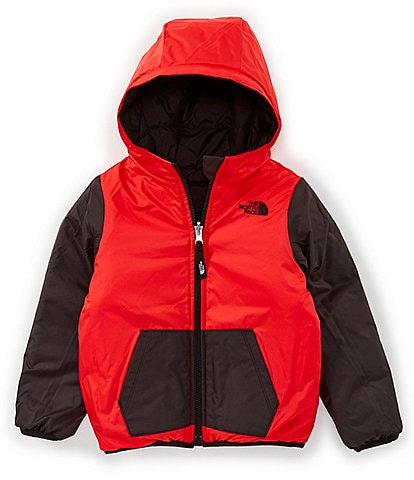 The North Face Little Boys 2T-6 Buffalo Check Print Reversible Perrito Jacket