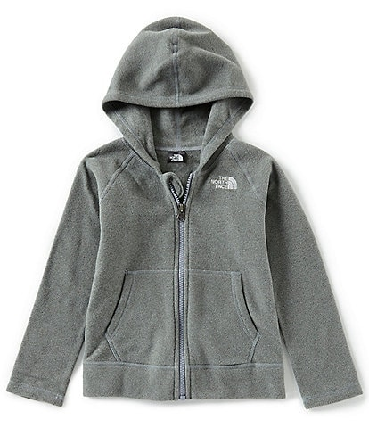 The North Face Little Boys 2T-6 Solid Glacier Full Zip Hoodie