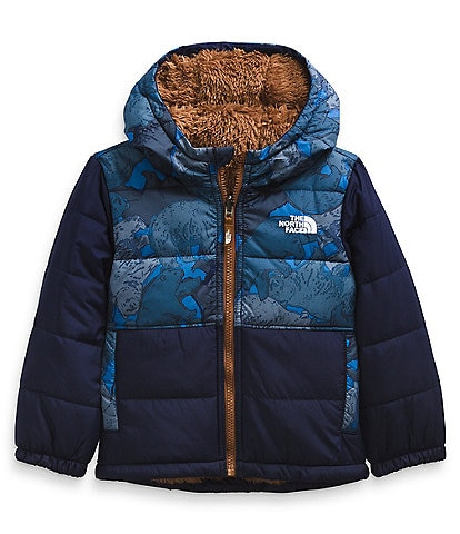 The North Face Little Boys 2T-6T Bear Camo Reversible Mount Chimbo Jacket