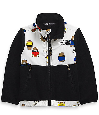 The North Face Little Boys 2T-6T Bears-Print Denali Fleece Jacket