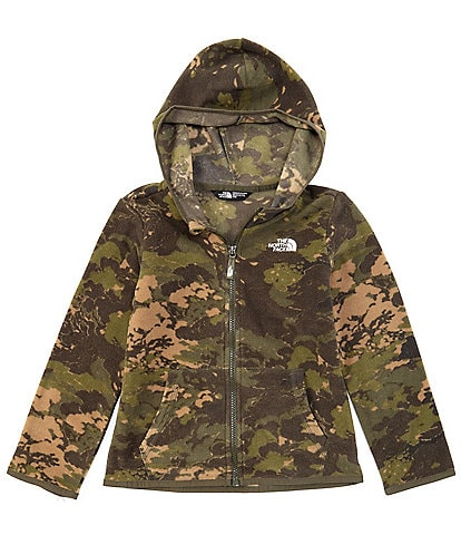 The North Face Little Boys 2T-6T Camo Glacier Full-Zip Hoodie