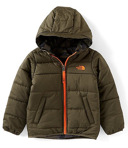 The North Face Little Boys 2T-6T Camouflage Print Reversible Perrito Jacket