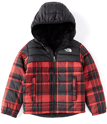 The North Face Little Boys 2T-6 Holiday Plaid Reversible Mount Chimborazo Puffer Hoodie Coat