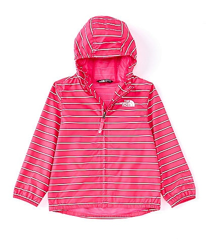 The North Face Little Girls 2T-6 Novelty Stripe Flurry Wind Jacket