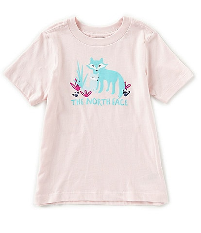 The North Face Little Girls 2T-6T Short-Sleeve Graphic Tee