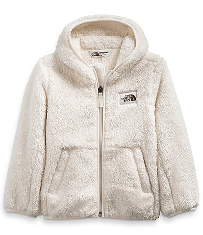 The North Face Little Girls 2T-6X Campshire Sherpa Fleece Hoodie
