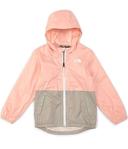 The North Face Little Girls 2T-6X Colorblock Zipline Rain Jacket