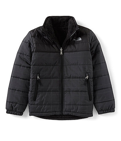 The North Face Little/Big Boys 5-20 Grid Print Reversible Mount Chimborazo Jacket