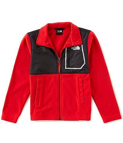 The North Face Little/Big Boys 5-20 Glacier Fleece Long Sleeve Track Jacket