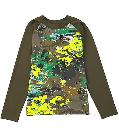 The North Face Little/Big Boys 5-20 Long-Sleeve Camouflage-Printed Sun Tee