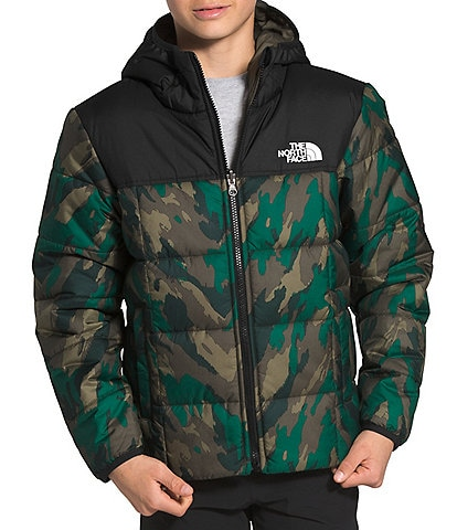 The North Face Little/Big Boys 5-20 Mountain Camo Reversible Perrito Snow Jacket