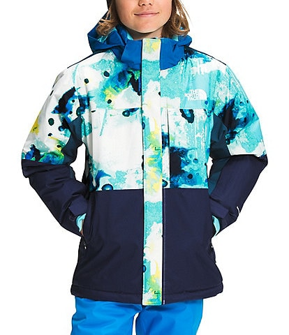 The North Face Little/Big Boys 5-20 Printed Freedom Extreme Insulated Snow Ski Jacket