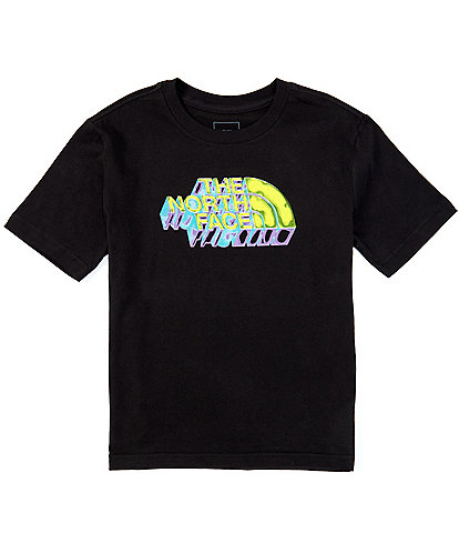 The North Face Little/Big Boys 5-20 Short-Sleeve 3D Logo Graphic Tee