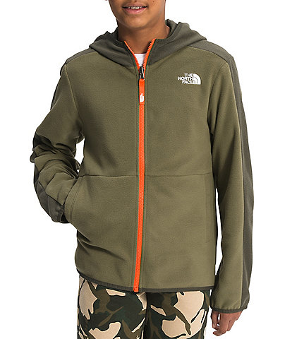 The North Face Little/Big Boys 5-20 Side-Taping Glacier Fleece Hoodie