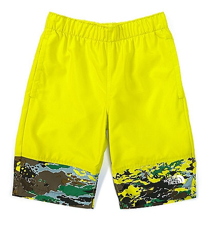 The North Face Little/Big Boys 5-20 Solid/Camo Class V Water Shorts
