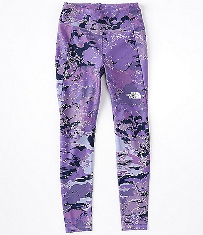 The North Face Little/Big Girls 5-18 Cloud Camo On Mountain Tights