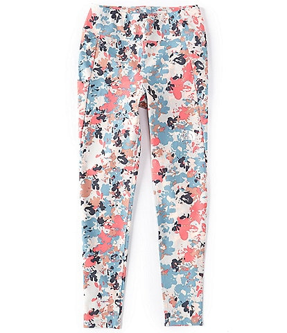 The North Face Little/Big Girls 5-18 Floral Camo On Mountain Tights