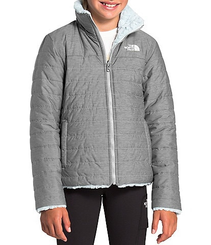 The North Face Little/Big Girls 5-18 Heather Reversible Mossbud Swirl Jacket