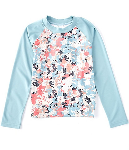 The North Face Little/Big Girls 5-18 Long-Sleeve Floral Camo Sun Tee