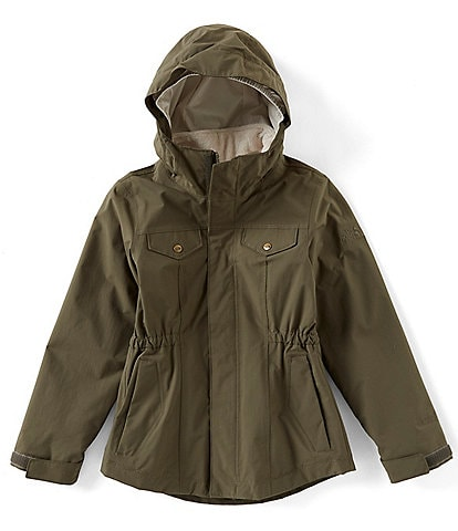 The North Face Little/Big Girls 5-18 Osolita Solid 2.0 Triclimate Hooded Jacket