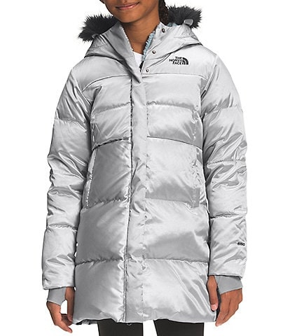 The North Face Little/Big Girls 5-18 Printed Dealio Fitted Snow/Ski Parka