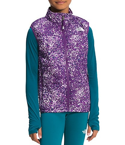 The North Face Little/Big Girls 5-18 Printed Reactor Insulated Vest