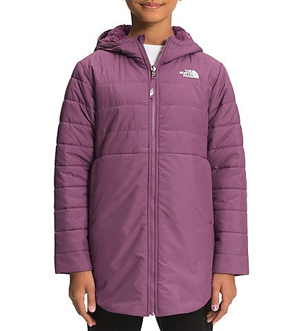 The North Face Little/Big Girls 5-18 Reversible Mossbud Swirl Parka
