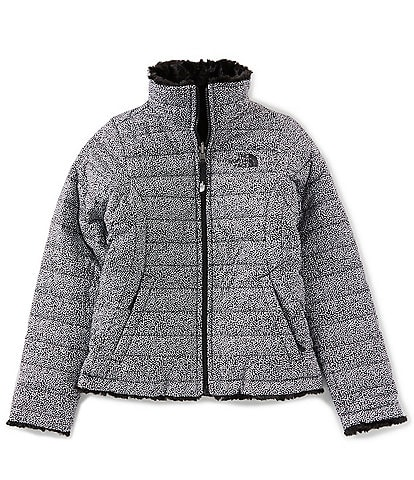 The North Face Little/Big Girls 5-20 Dotted Reversible Mossbud Swirl Jacket