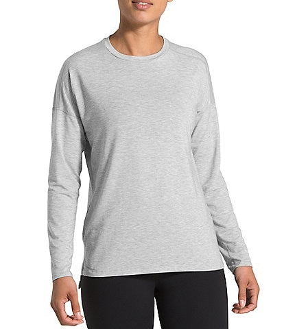 The North Face Long Drop Shoulder Sleeve Hi-Low Workout Tee