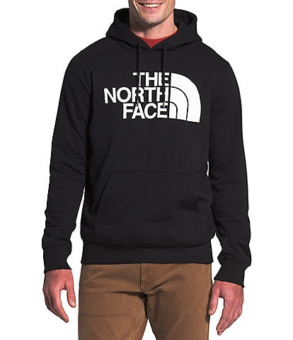The North Face Long-Sleeve Half Dome Pull-Over Fleece Hoodie