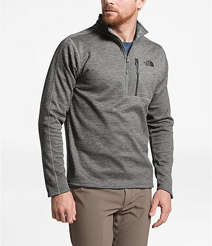 The North Face Long-Sleeve Quarter-Zip Canyonlands Pull-Over Snow Jacket