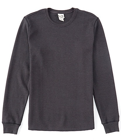 The North Face Long-Sleeve Waffle-Knit Thermal Tee