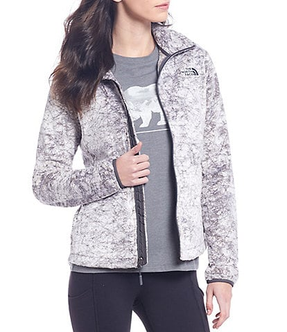 The North Face Marble Print Osito Fleece Jacket