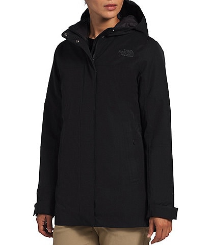 The North Face Menlo Insulated Long Sleeve Waterproof Parka