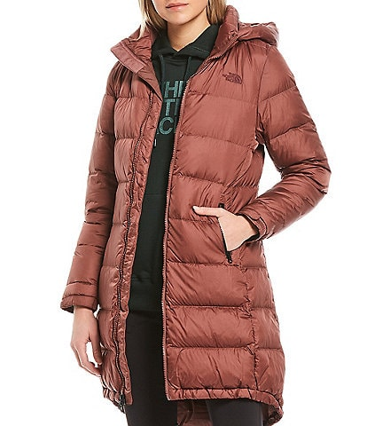 The North Face Metropolis Hooded Hi-Low Quilted Parka III