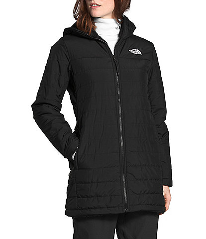 The North Face Mossbud Faux Fur Fleece Lined Insulated Reversible Hooded Parka